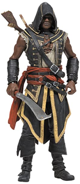 Creed Series 2 Adewale action figure del Assassino Assassin's Creed Series 2 Adewale action figure