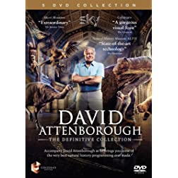 David Attenborough - The Definitive Collection - Natural History Museum Alive, Galapagos, Micro Monsters
