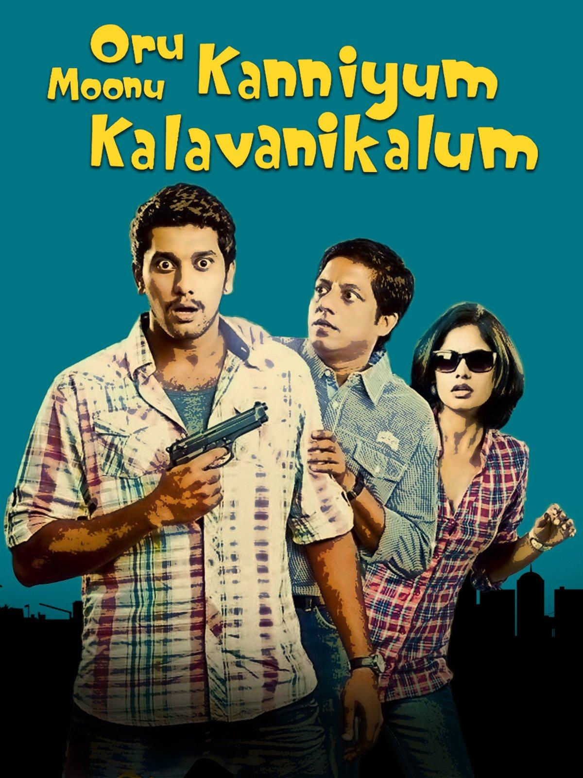 Oru Kanniyum Moonu Kalavaanikalum on Amazon Prime Instant Video UK