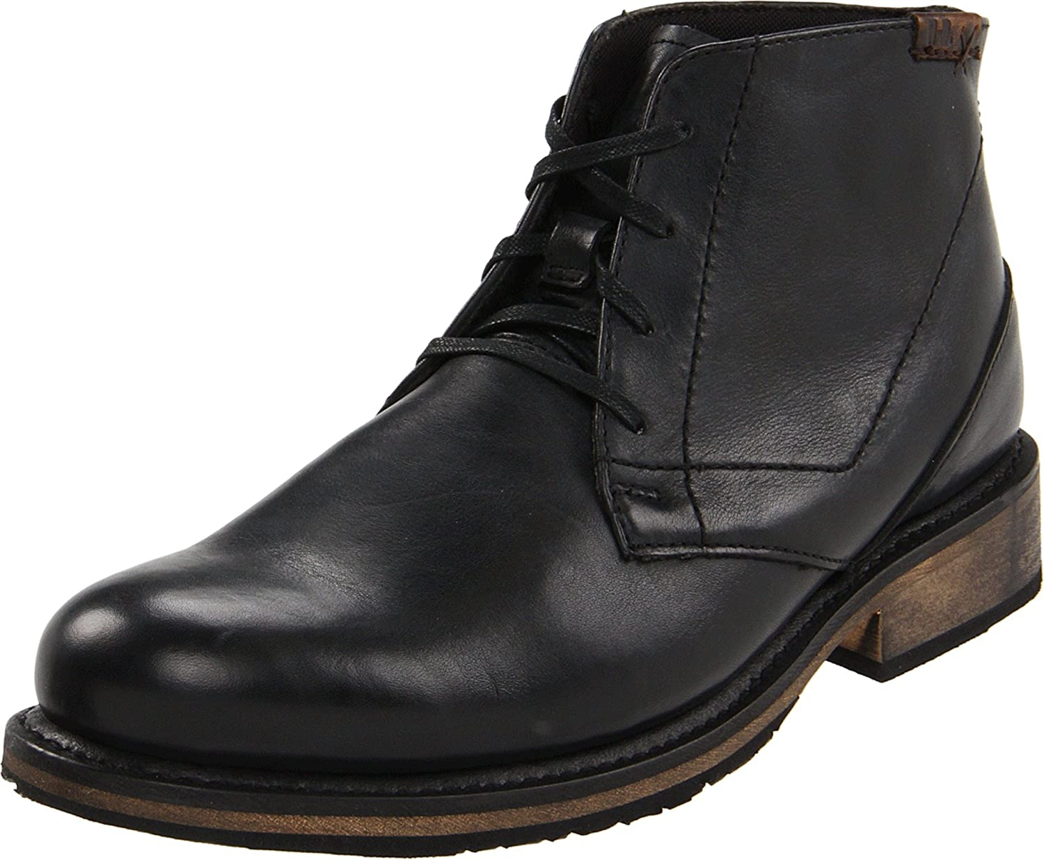 Leather Sole Boots Men Images Italian Style Fashion
