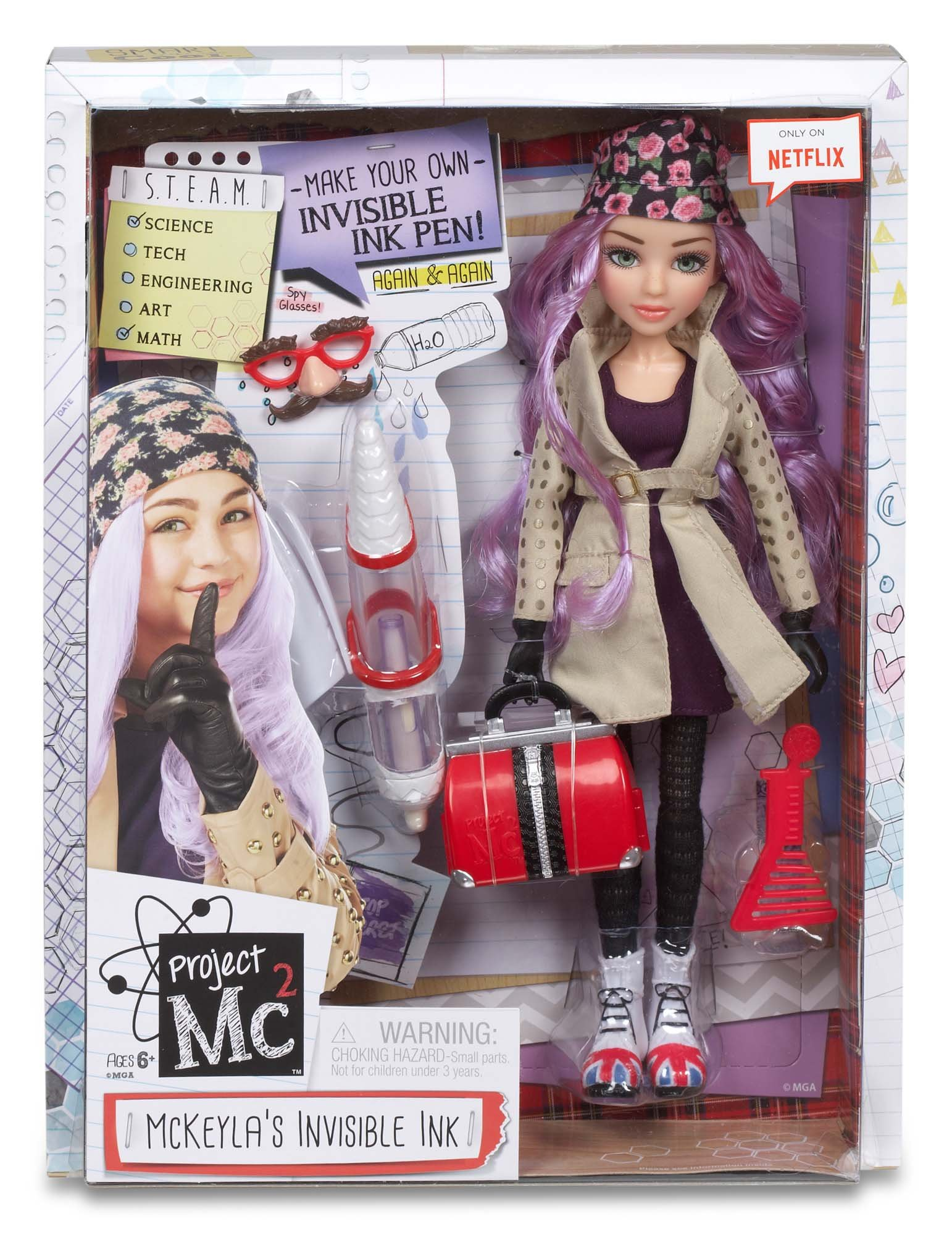Project MC2 Invisible Ink
