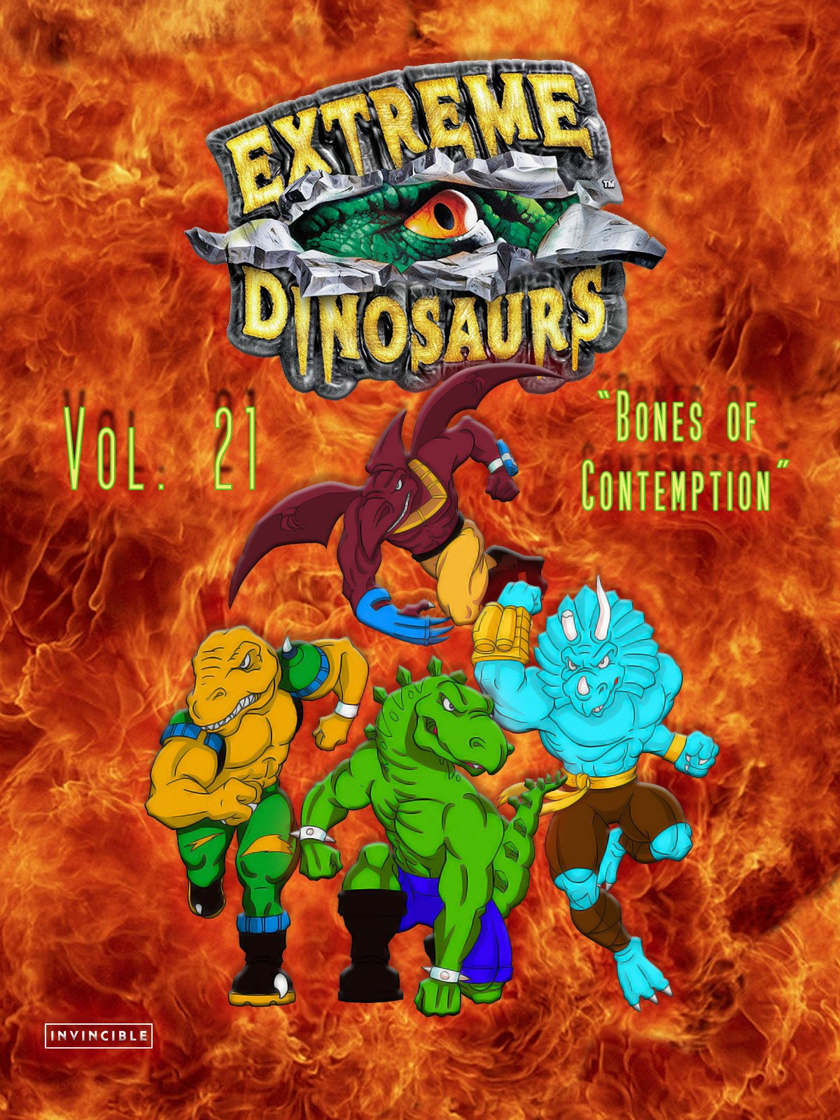Extreme Dinosaurs Vol. 20The Dinosaur Prophecy