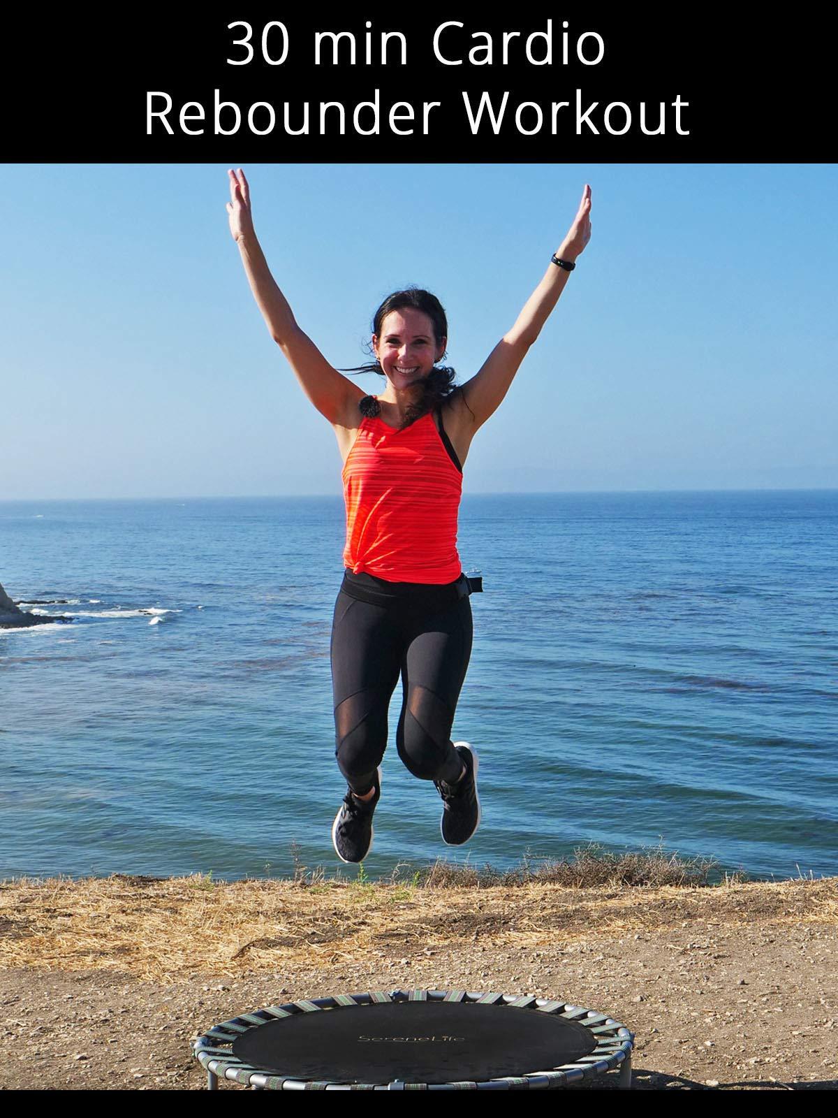 30 min Cardio Rebounder Workout
