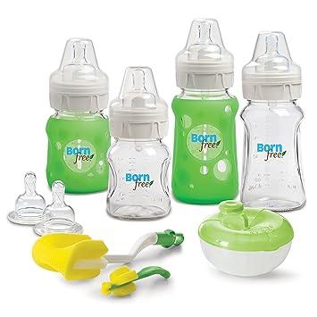Born Free BPA-Free Premium Glass Bottles Gift Set