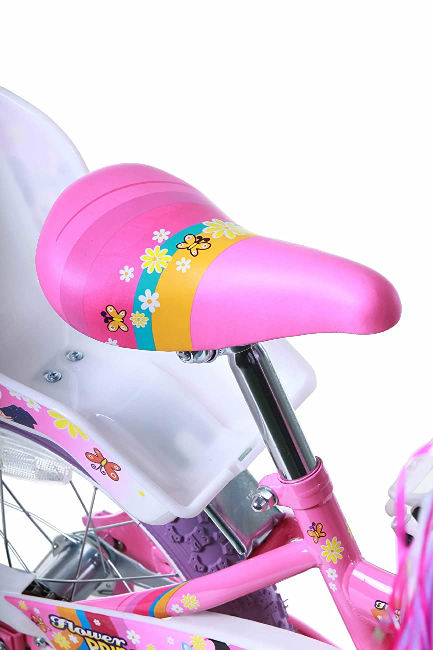 Titan Girl's Flower Princess BMX Bike, Pink, 16-Inch 6