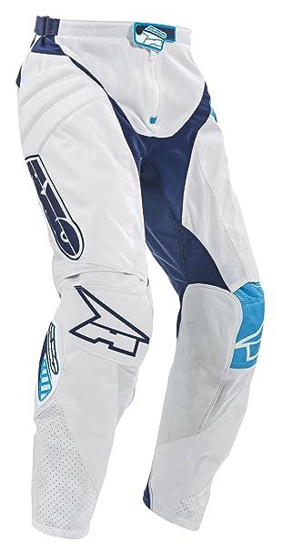 AXO MX3T0056-WB TC222 Pants,Taille 48, Blanc/Bleu