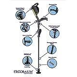 New Generation Ergobaum Ergonomic Crutch/ Cane (Single Unit) Single Unit Ergobaum That Acts As a Extra Balance Strong Performance Cane.