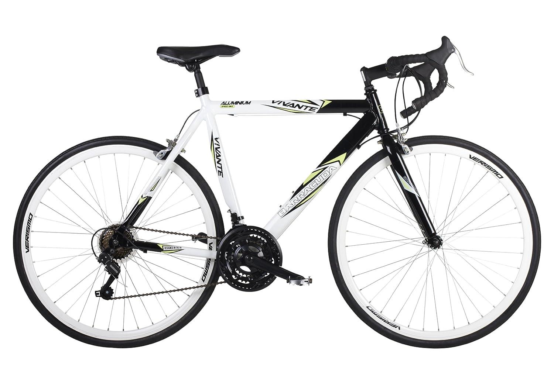 Bicicleta de carretera con cambios en el manillar