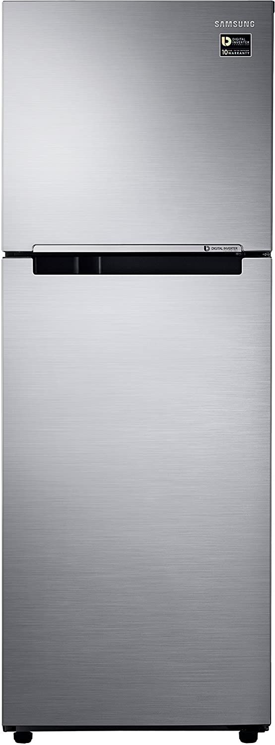Samsung RT28M3022S8 Frost-free Double-door Refrigerator (253 Ltrs, 2 Star Rating, Elegant Inox) By Amazon @ Rs.18,990