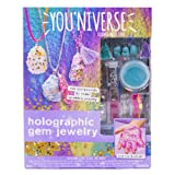 Youniverse 765940844243 Make Your Own Holographic Gem Jewelry by Horizon Group USA, Multicolored (Color: Multicolored)