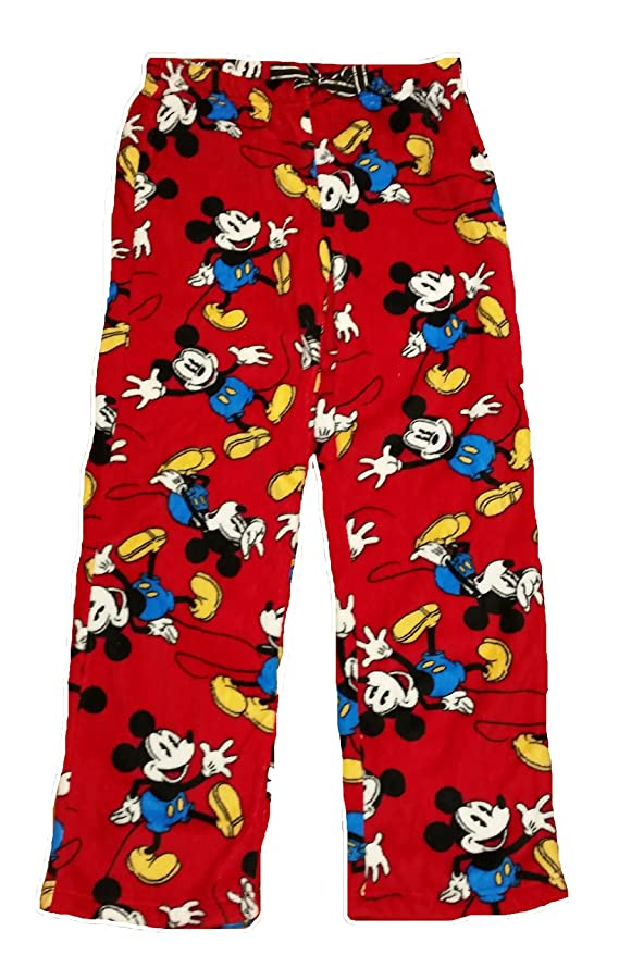 Disney Mickey Mouse Licensed Graphic Sleep Lounge Pants