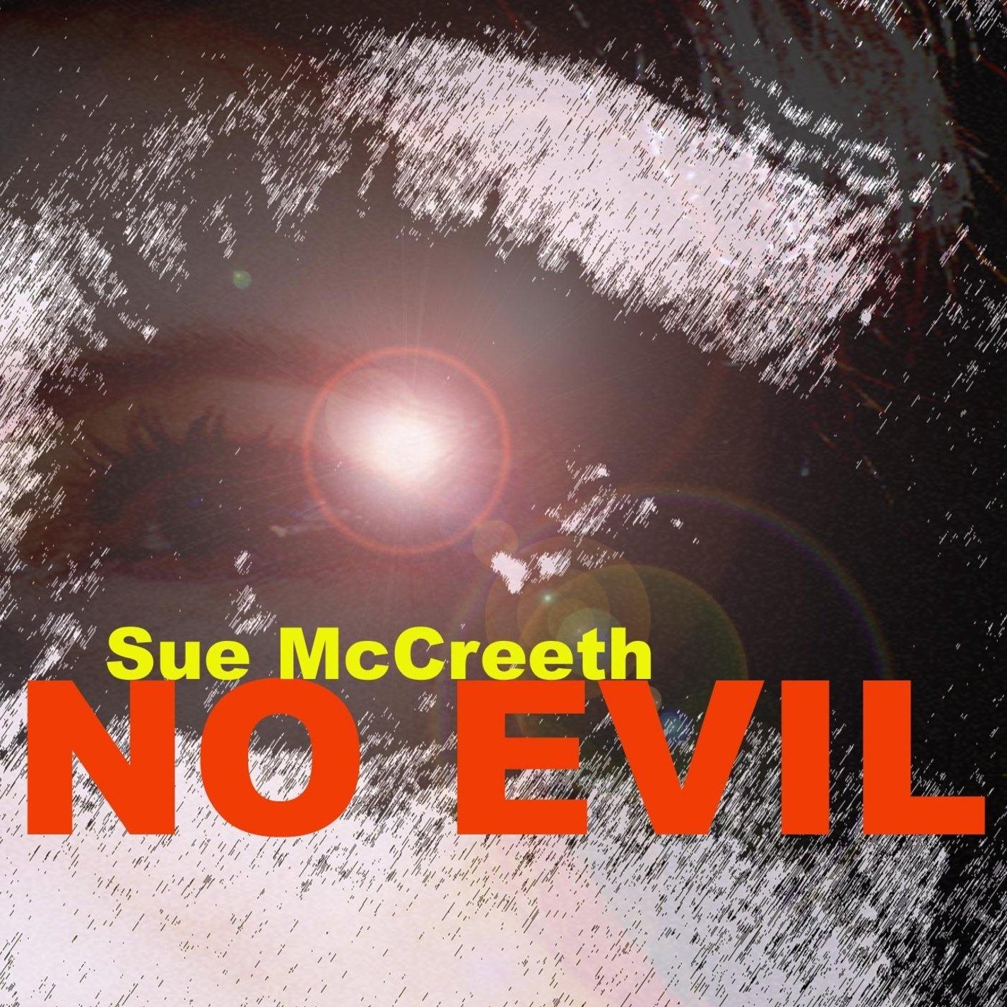No Evil CD Front Cover - Sue McCreeth