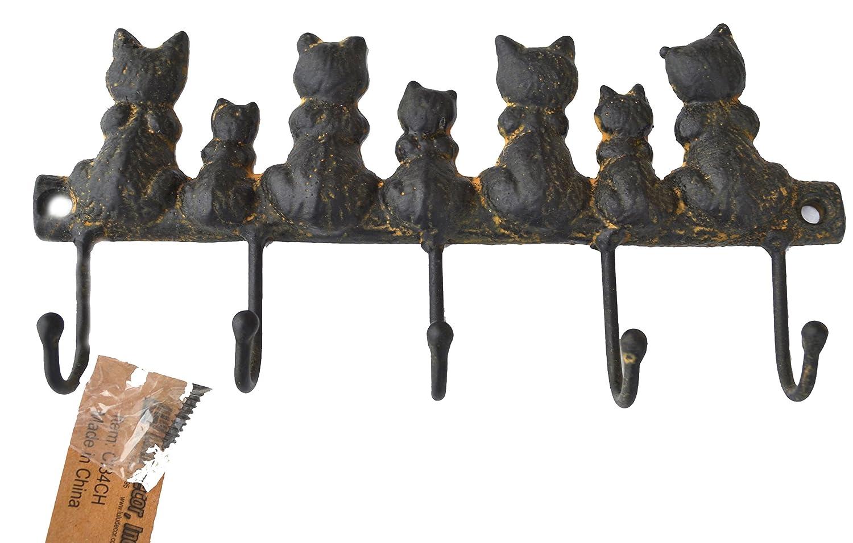 Cute Cat Wall Hooks Cat Key Racks 183 Decorative Wall Hooks