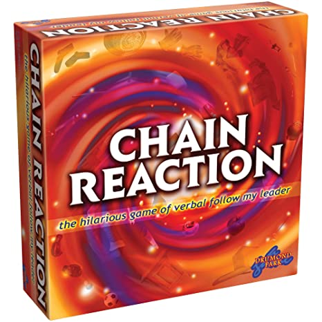 Drumond Park – Chain Reaction Board Game – Jeu de Société Version Anglaise
