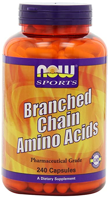 Now Foods, verzweigtkettigen Aminosäuren, 240 Kapseln