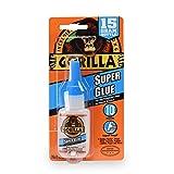 Gorilla Super Glue 15 Gram, Clear (Color: Clear, Tamaño: 1 - Pack)