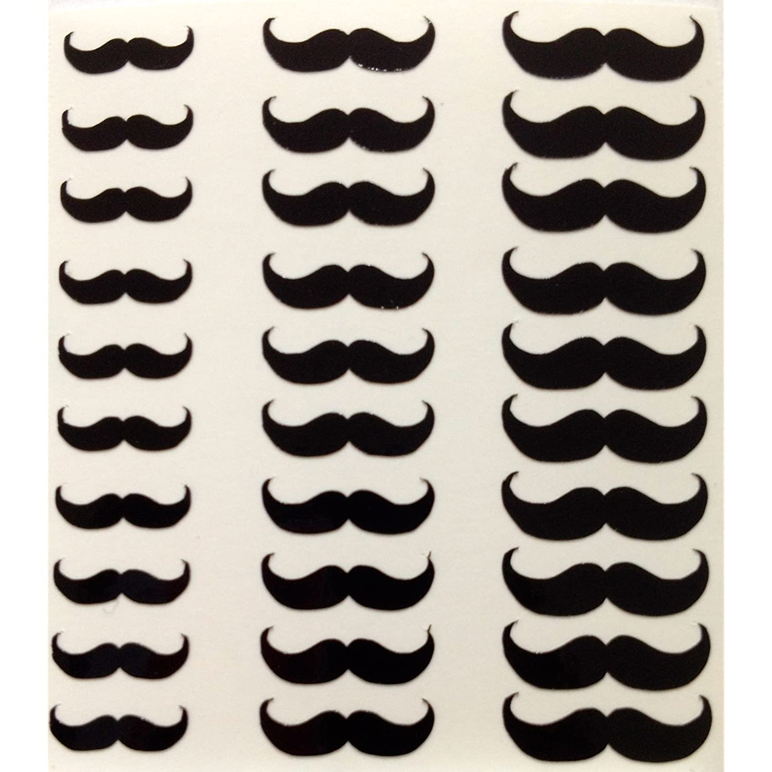 Movember Nail Wraps - Amazon