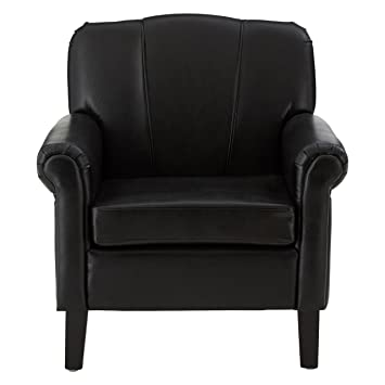 Premier Housewares Chesterfield Armchair - Black