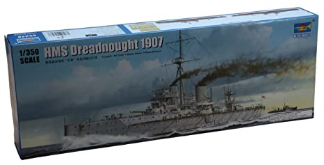Trumpeter 05328 modèle Kit Hms DREADNOUGHT 1907