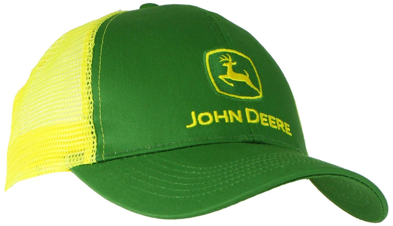 Bingua.com - John Deere Men s Logo Contrast Mesh Back Core Baseball ... 31a6bcf36d9