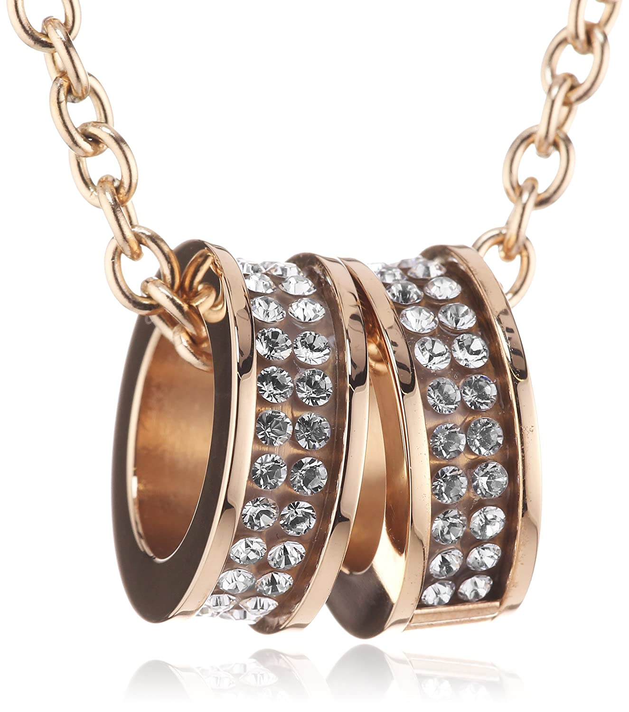 Dyrberg/Kern Damen-Edelstahl Halskett FERMI RG CRYSTAL 333821 online kaufen