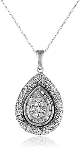 10k-White-Gold-and-Diamond-Teardrop-Pendant-Necklace-1-cttw-18-