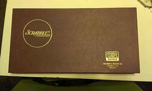 Scrabble Vintage 1976 Board
