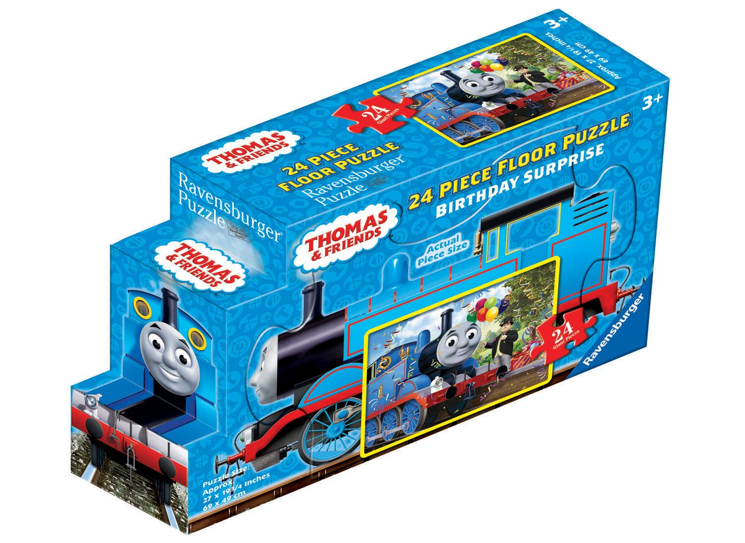 thomas and friends birthday surprise 24 piece floor puzzle   new  free shipping