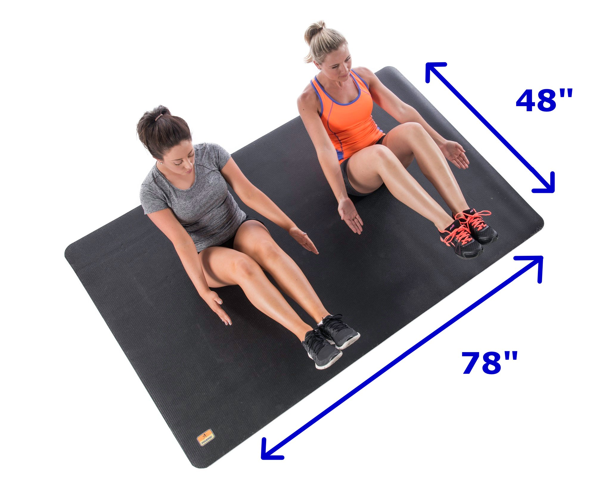 Exercise Mat Large Workout Mats Home Gym Fitness Training