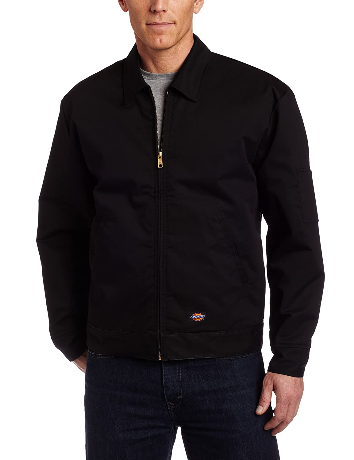 Dickies Men's Lined Eisenhower Front-Zip Jacket