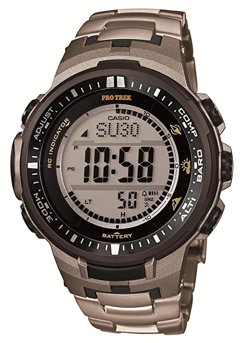 Casio PROTREK Triple Sensor Ver.3 Tough Solar MULTIBAND 6 PRW-3000T-7JF Men's Watch (Japan Import)-奢品汇 | 海淘手表 | 腕表资讯