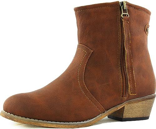 Women's Western Boots With Zipper 105