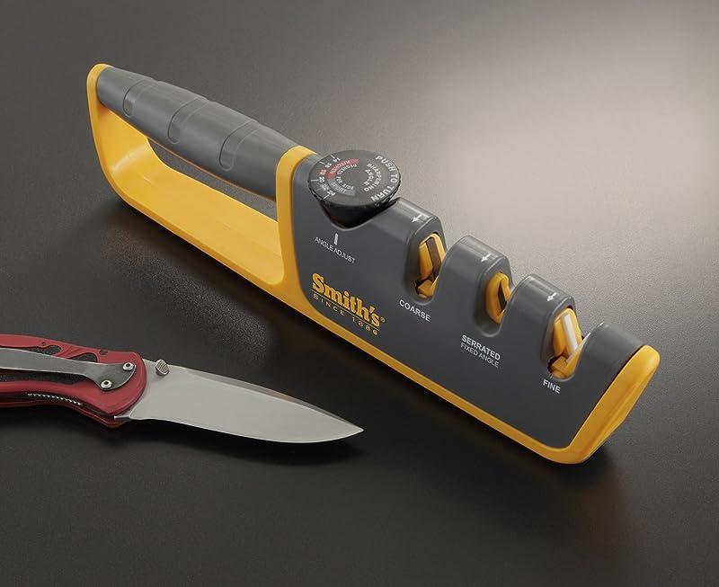 Smith's 50264 Adjustable Manual Knife Sharpener Via Amazon