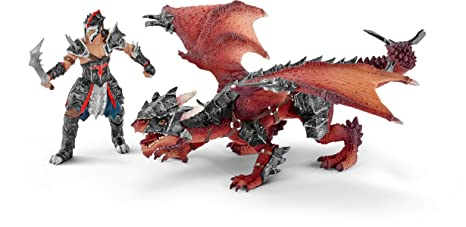 Schleich - 70128 - Figurine - Guerrier avec dragon