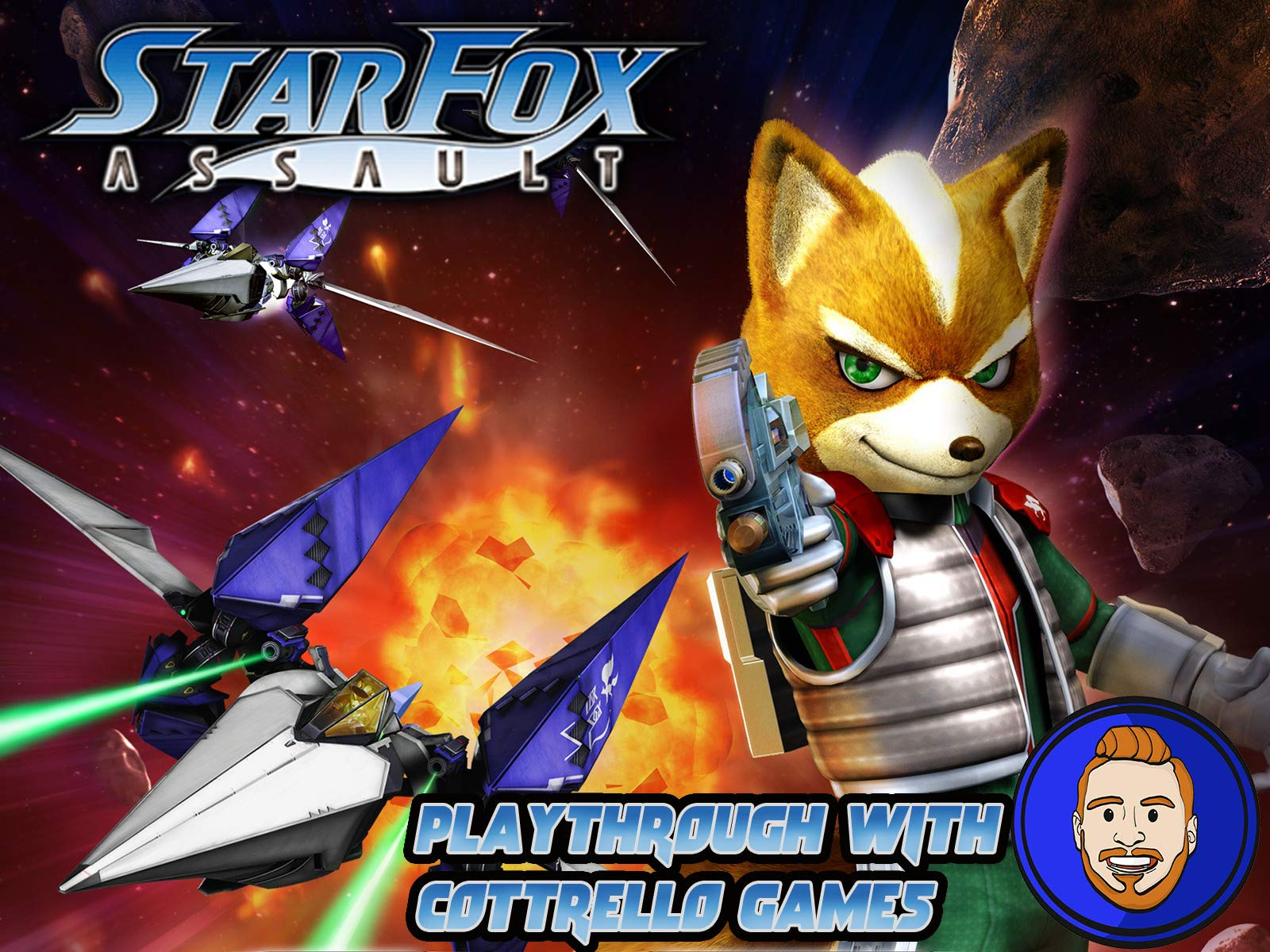 Star Fox Assault Playthrough with Cottrello Games on Amazon Prime Video UK