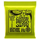 Ernie Ball 7-String Regular Slinky Nickel Wound Set, .010 - .056 (Tamaño: Regular)