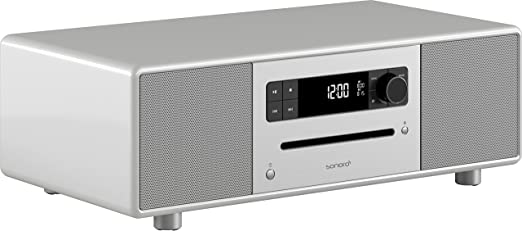 Design musiksystem sonoroSTEREO stéréo 2.1 bluetooth avec technologie ® argent
