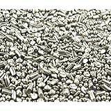 lieomo 1Lb Stainless Steel Tumbling Media Shot Jewelers Cylindrical Tumbler Finishing