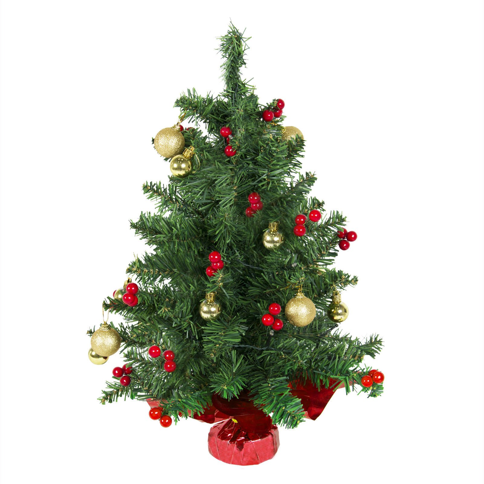 Quot tabletop pre lit christmas tree battery operated