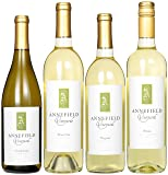 Annefield Vineyards Fresh and Fruity White Wines Mixed Pack, 4 x 750 mL