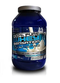 First-Class Nutrition 100 % Whey Sensation Vanilla Geschmack - Eiweiss shake, Wheyprotein, 1er Pack (1 x 2 kg)