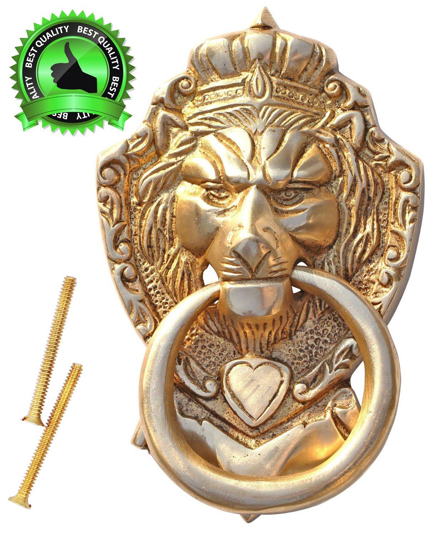 Practical door knockers souvnear 6 lion door knocker for 10 downing street lion authentic foundry door knocker