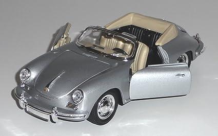 Voiture en métal - Porsche 356B : Gris