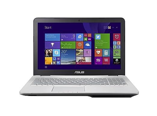 Asus N551JX-DM341T Ordinateur portable Gris (Intel Core i7, 8 Go de RAM, 1000 Go, Intel HD Graphics 4600)