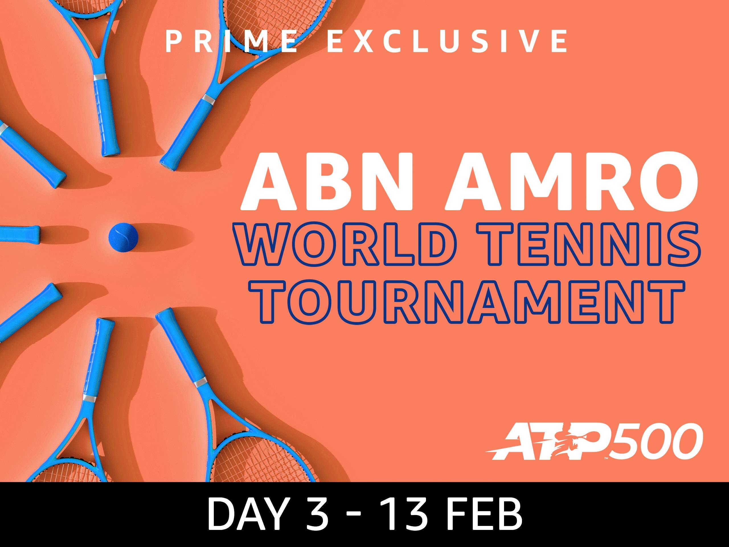 2019 ABN AMRO World Tennis Tournament, ATP 500 - Day 3 on Amazon Prime Instant Video UK