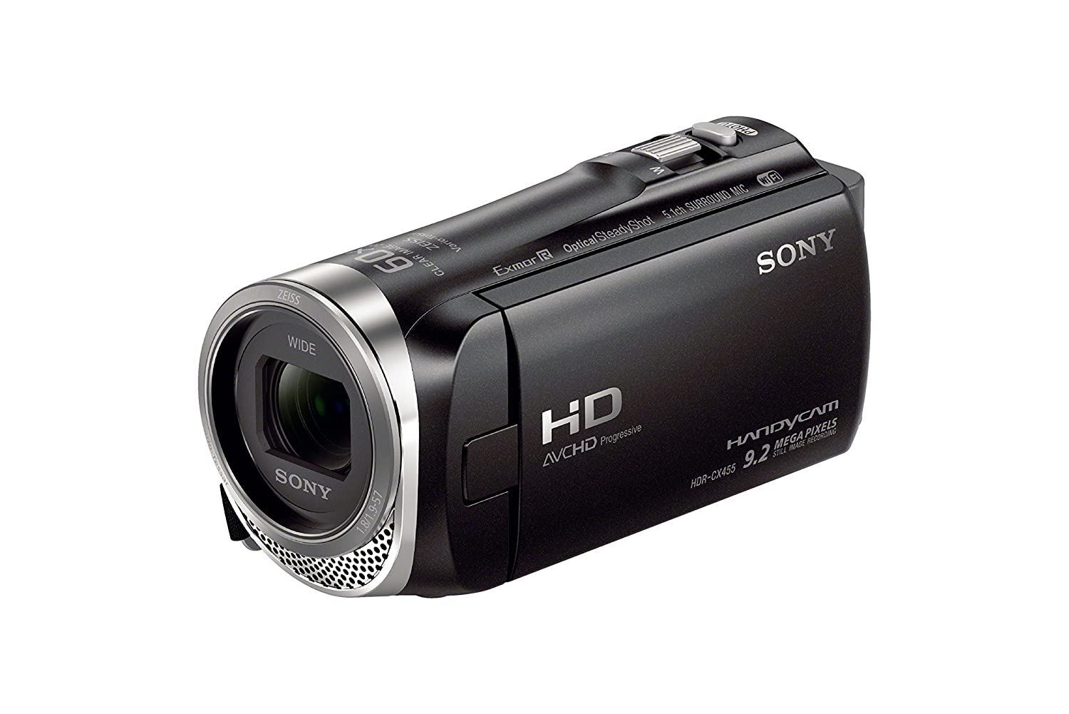 Sony HDRCX455/B Full HD 8GB Camcorder (Black)