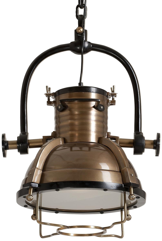 SIT-Möbel Hänge-Strahler This und That, 35 x 35 x 58 cm, aus metall mit bronze-finish antik 1094-00