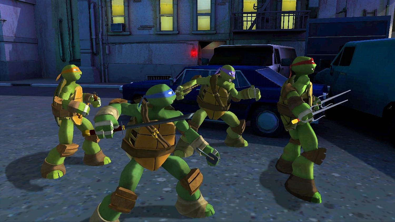 Teenage Mutant Ninja Turtles Xbox 360 video game - eveikals.lv