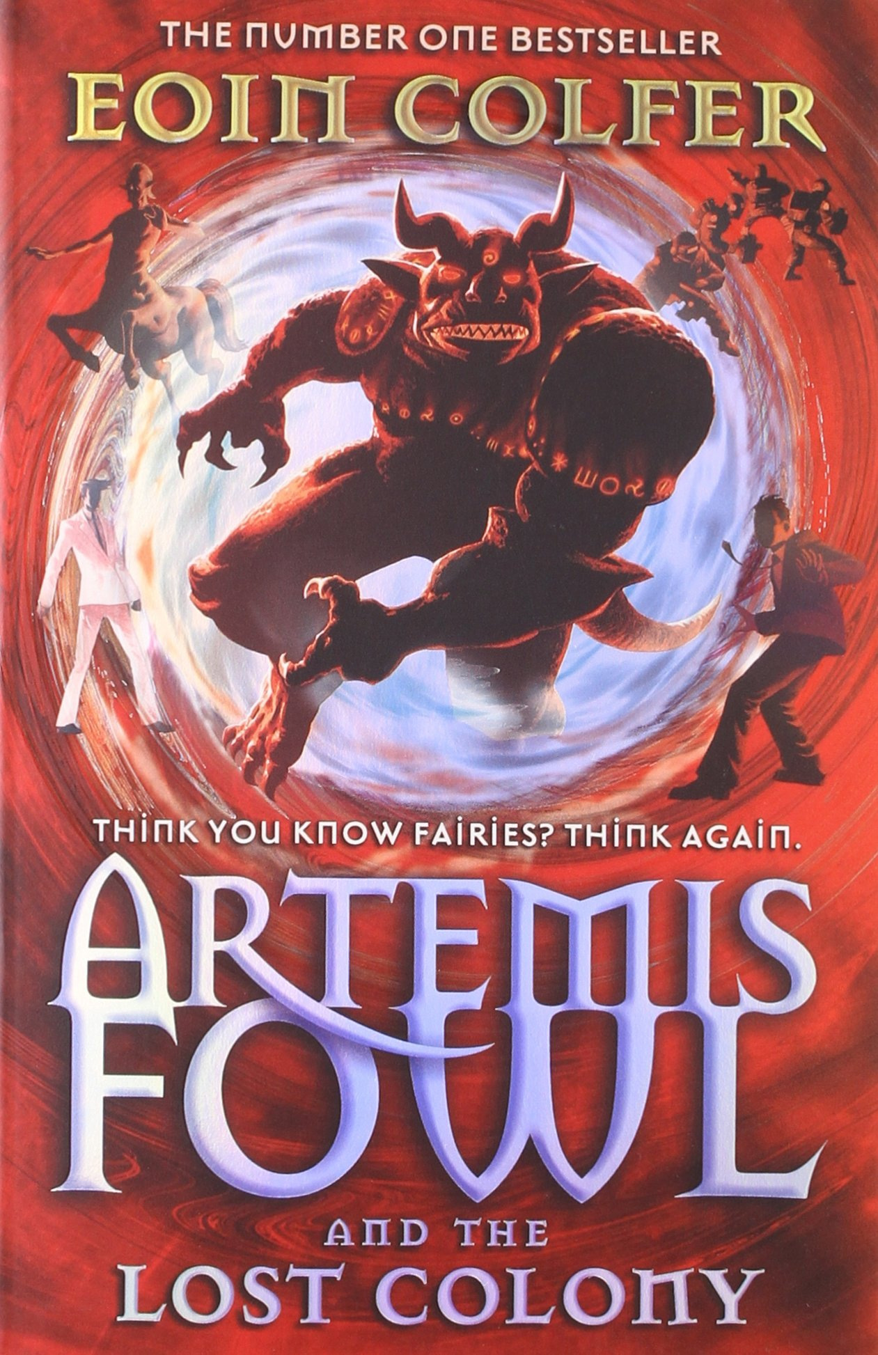 Buy Artemis Fowl And The Lost Colony Book Online At Low Prices In India  Artemis  Fowl And The Lost Colony Reviews & Ratings  Amazon