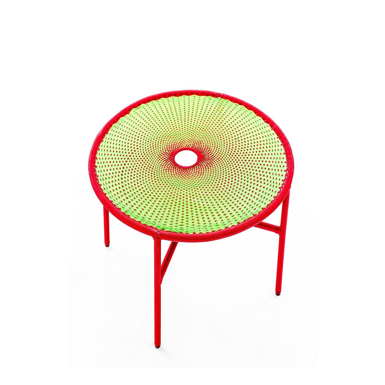 Banjooli Beistelltisch hellgrün/rot günstig